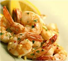 basil lemon shrimp
