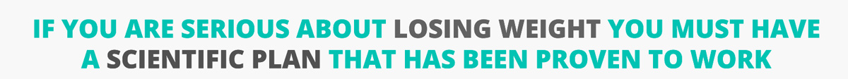 serious about losing weight headline