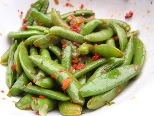 how to cook fresh snap peas