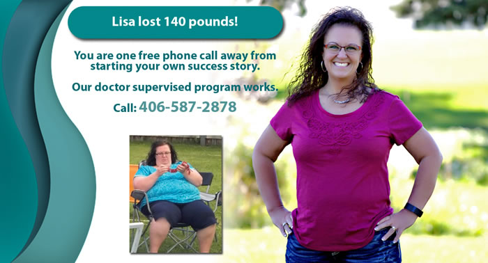 lisa lost weight slideshow
